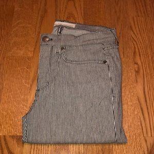 Gap Women's True Skinny Ankle Stripe Jeans